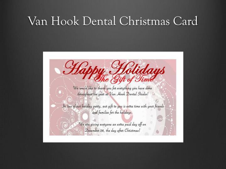 Van Hook Dental Christmas Card