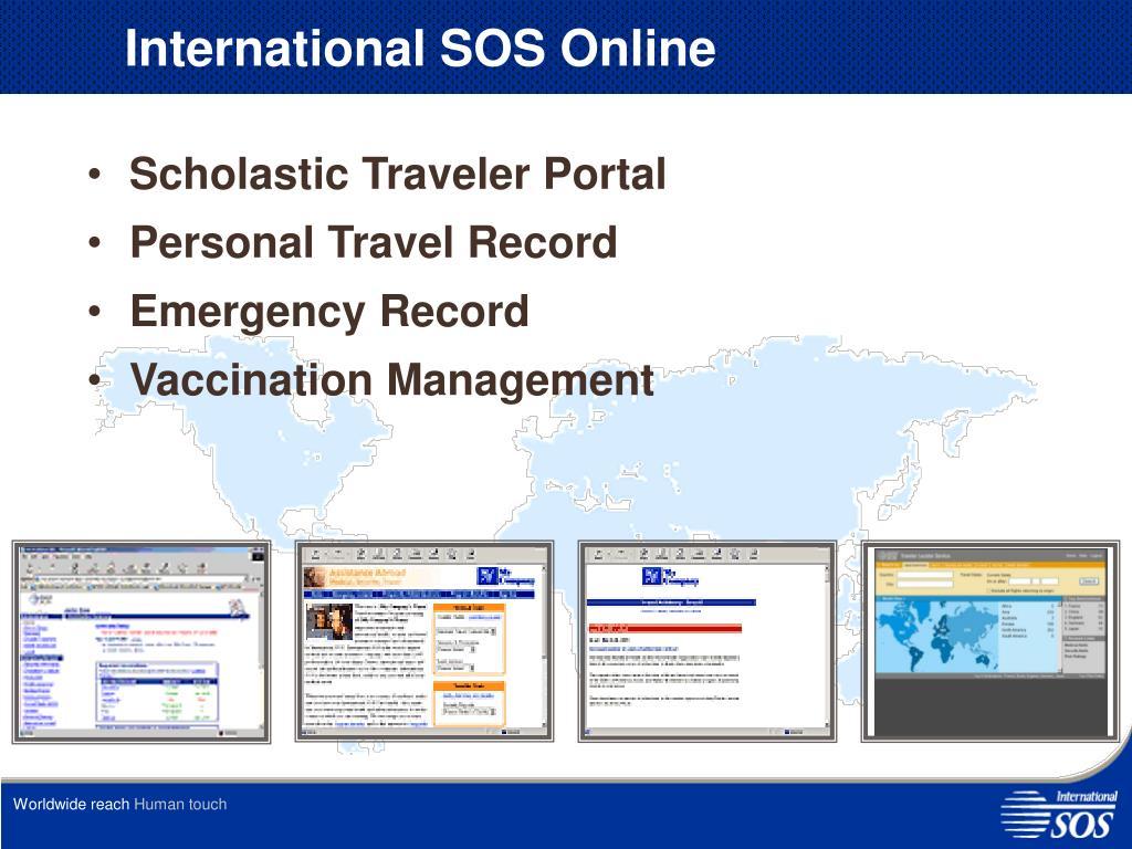 PPT - International SOS PowerPoint Presentation - ID:3104739