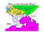 why is the danube blue