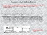 classroom activity for polar express