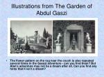 illustrations from the garden of abdul gaszi