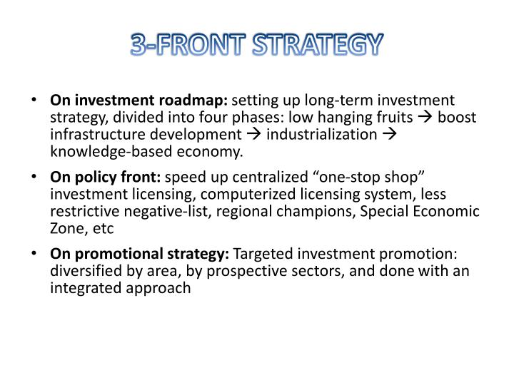 3-FRONT STRATEGY