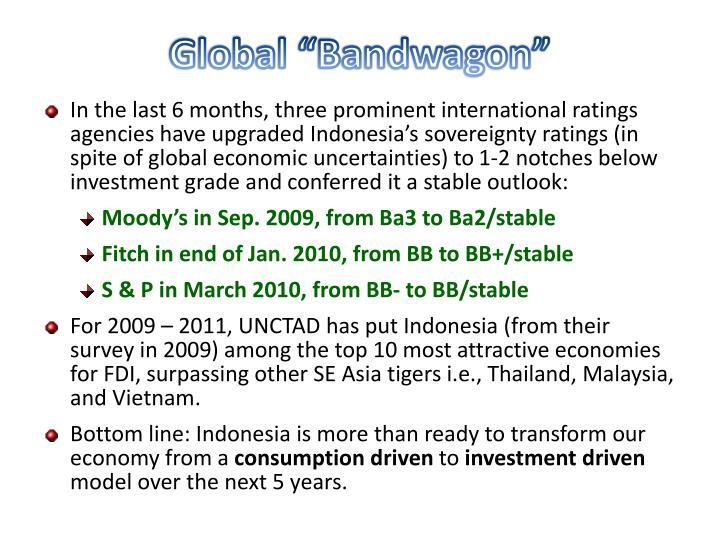 """Global """"Bandwagon"""""""