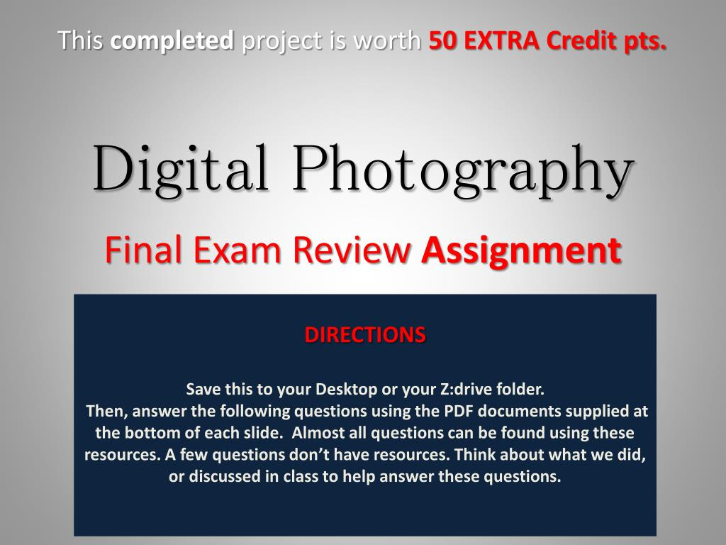 Ppt Digital Photography Powerpoint Presentation Free Download Id 3105194
