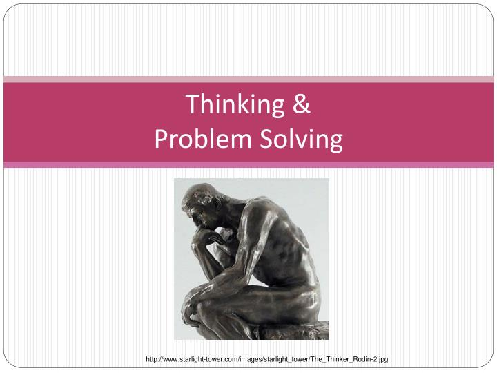problem solving in ai