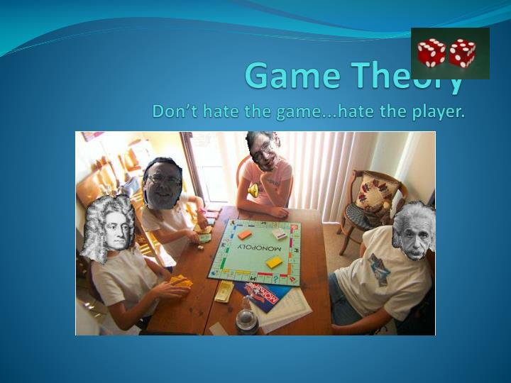 what is the game theory and it&#039 Simply put, game theory is the study of logical decision making made by players within the defined parameters of a system (game, scenario, etc) it uses mathematical models and can be applied to economics, psychology, logic, computer science, distributed systems, and more.
