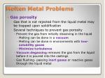 molten metal problems1