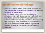solidification shrinkage1