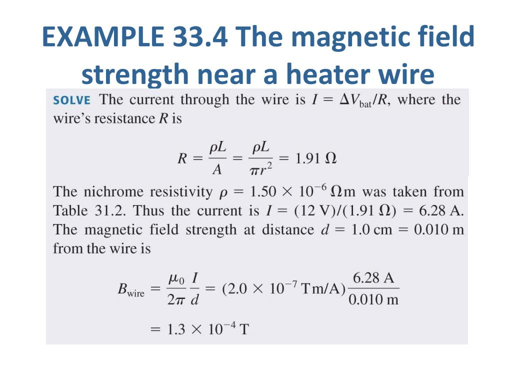 PPT - Chapter 33  The Magnetic Field PowerPoint Presentation