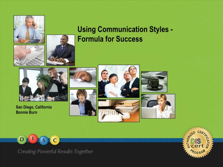 communication style self assessment Self-assessments communication styles board orientation series self-assessments instructions: from each of the following pairs of attributes select attributes the one that is the most typical of your personality.