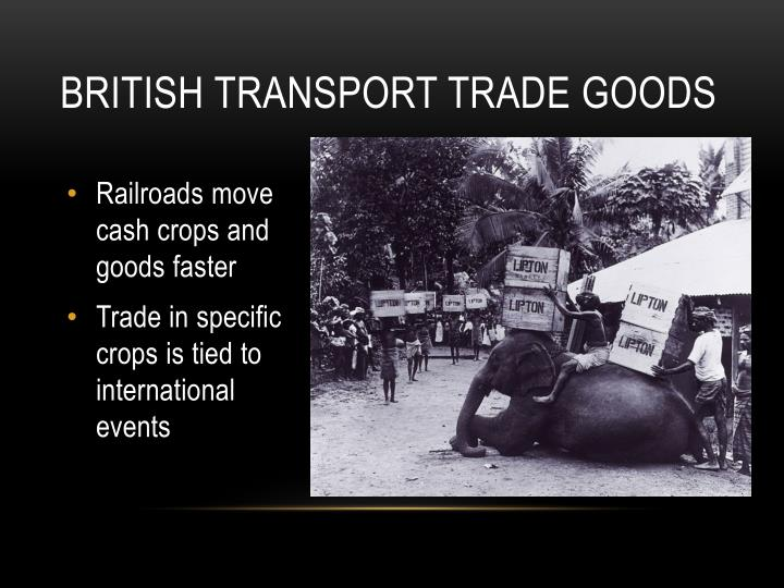 transportation of traded goods essay How transportation costs affect trade essay - the transportation costs affect the volume of trade in terms of the different quality or value to weight ratio of products the transportation costs make up larger share in the price of low-quality products, so that an increase in the transportation cost will raise the price of low-quality goods proportionately than high-quality goods.