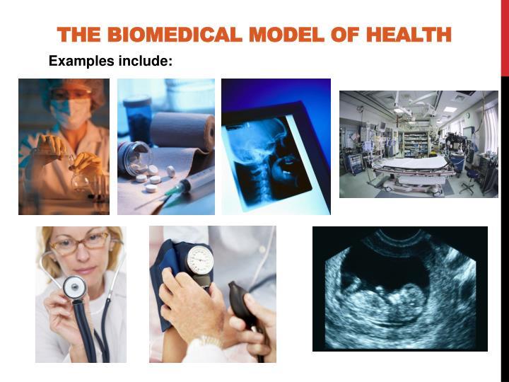 the biomedical model of health