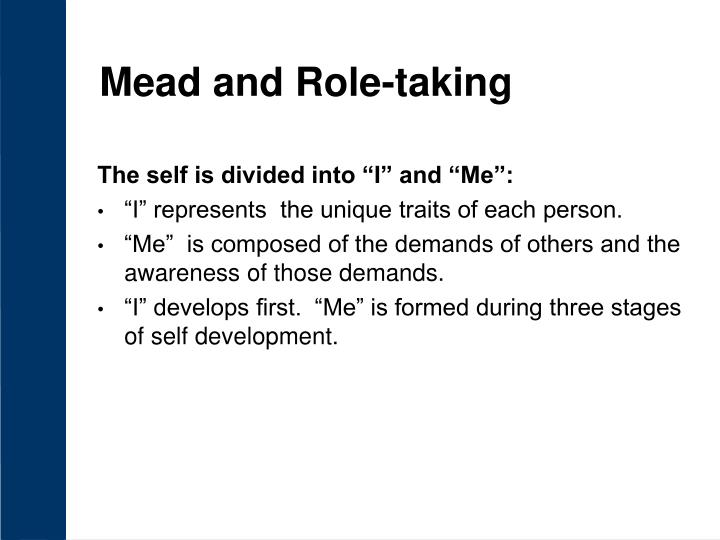 mead and role taking