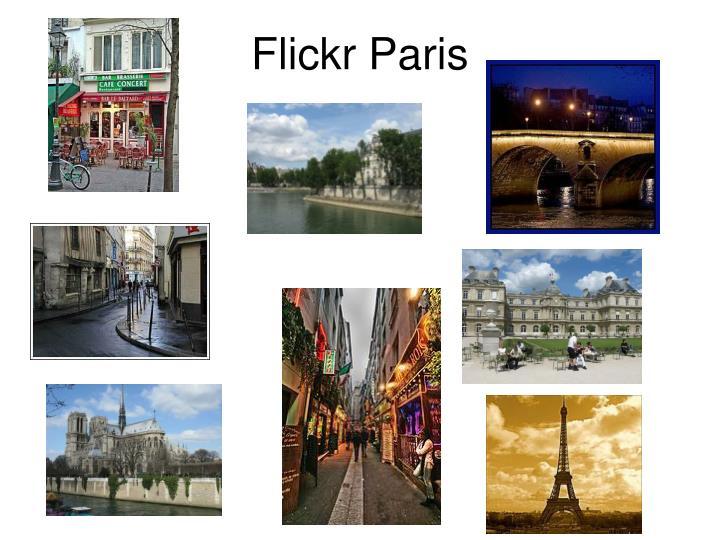 Flickr Paris