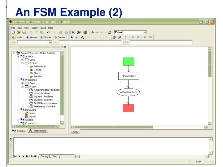 An FSM Example (2)