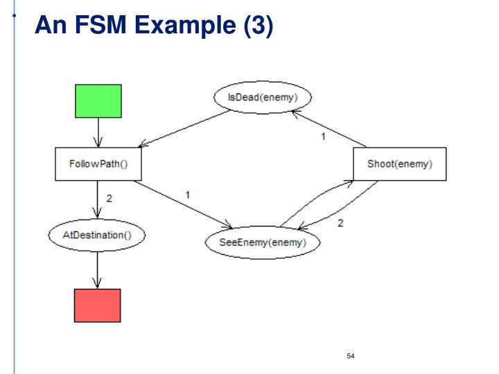 An FSM Example (3)