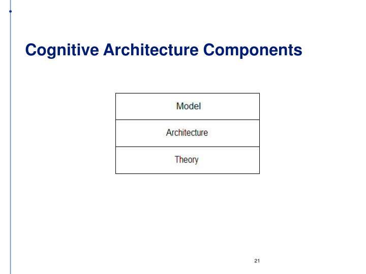 Cognitive Architecture Components