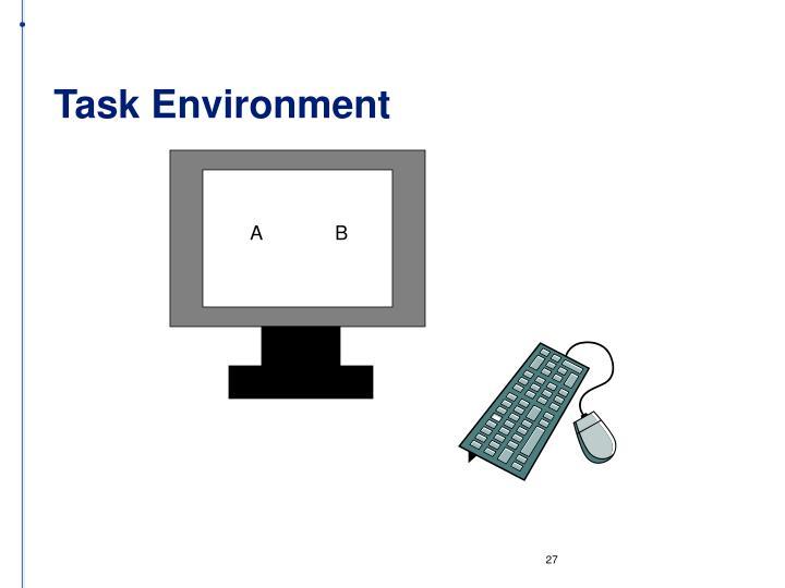 Task Environment