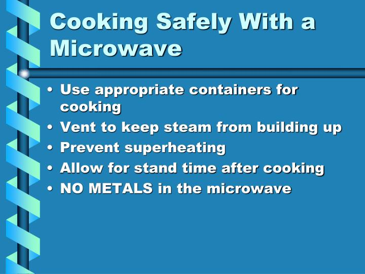Cooking Safely With a Microwave