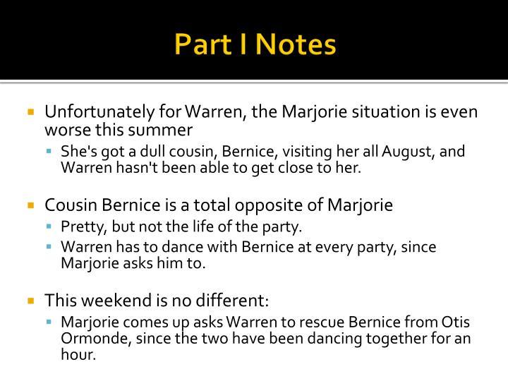 Part I Notes