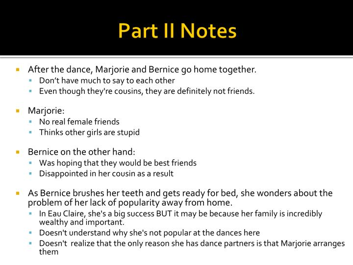 Part II Notes