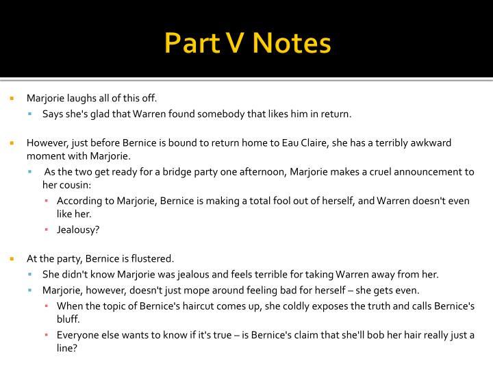 Part V Notes