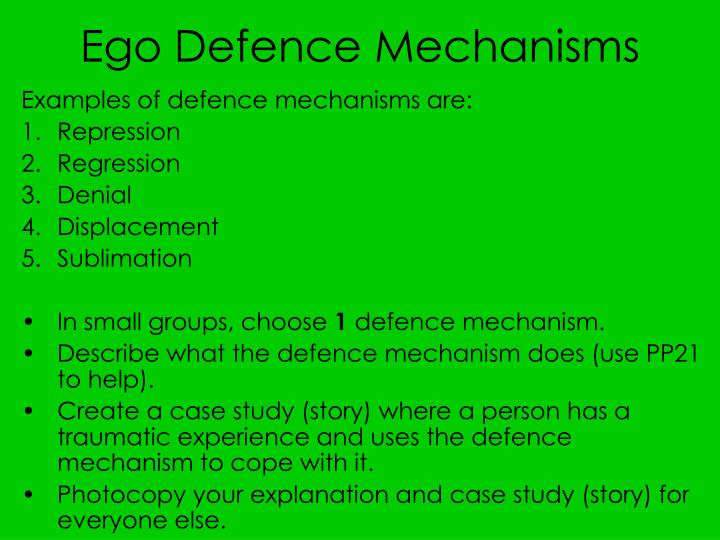 according to freud what purpose do defense mechanisms serve or success According to freud, breuer recognized that she had fallen in love with him, and that he was falling in love with her  the techniques are called the ego defense mechanisms, and freud, his.