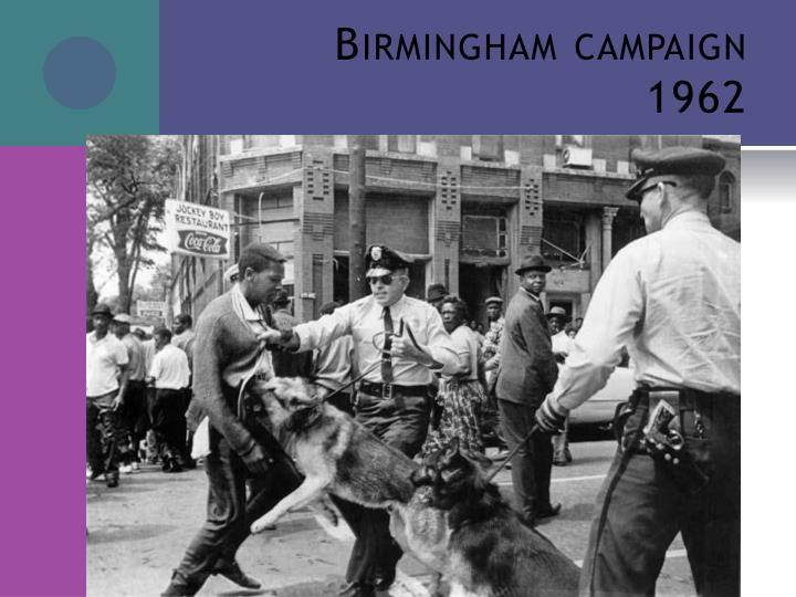 Birmingham campaign 1962