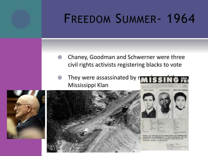Freedom Summer- 1964
