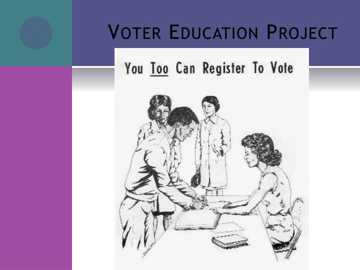 Voter Education Project