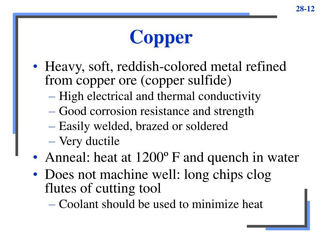 Copper Sulfide Thermal Conductivity