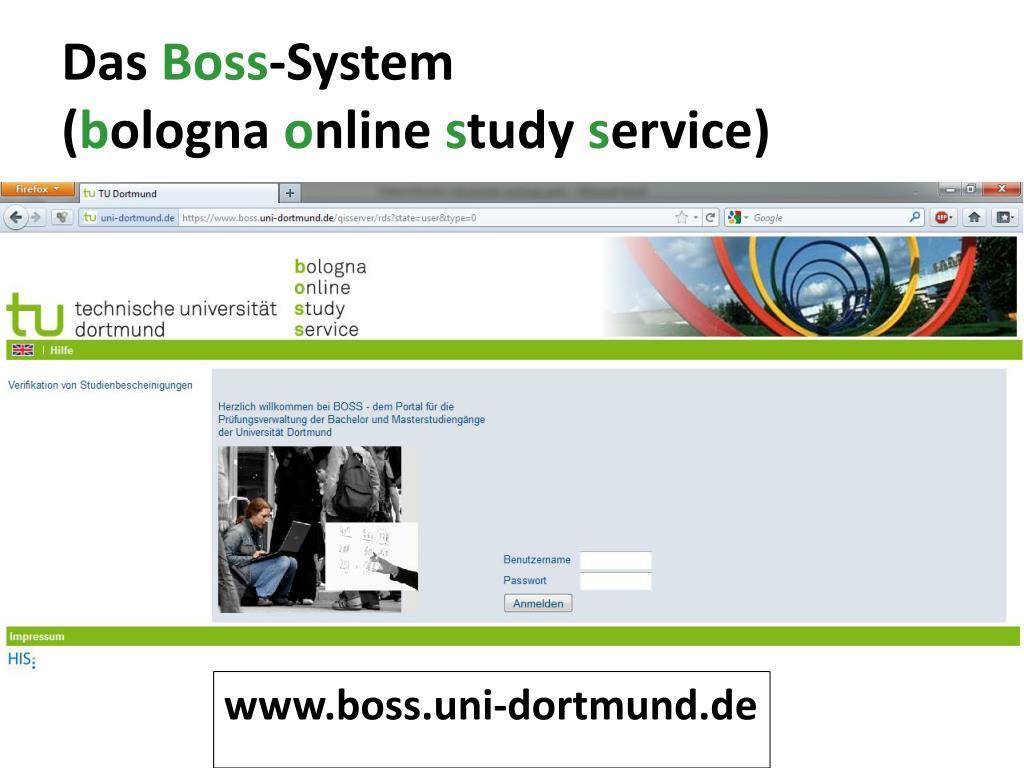Www.Boss.Tu-Dortmund.De