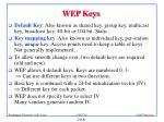 wep keys