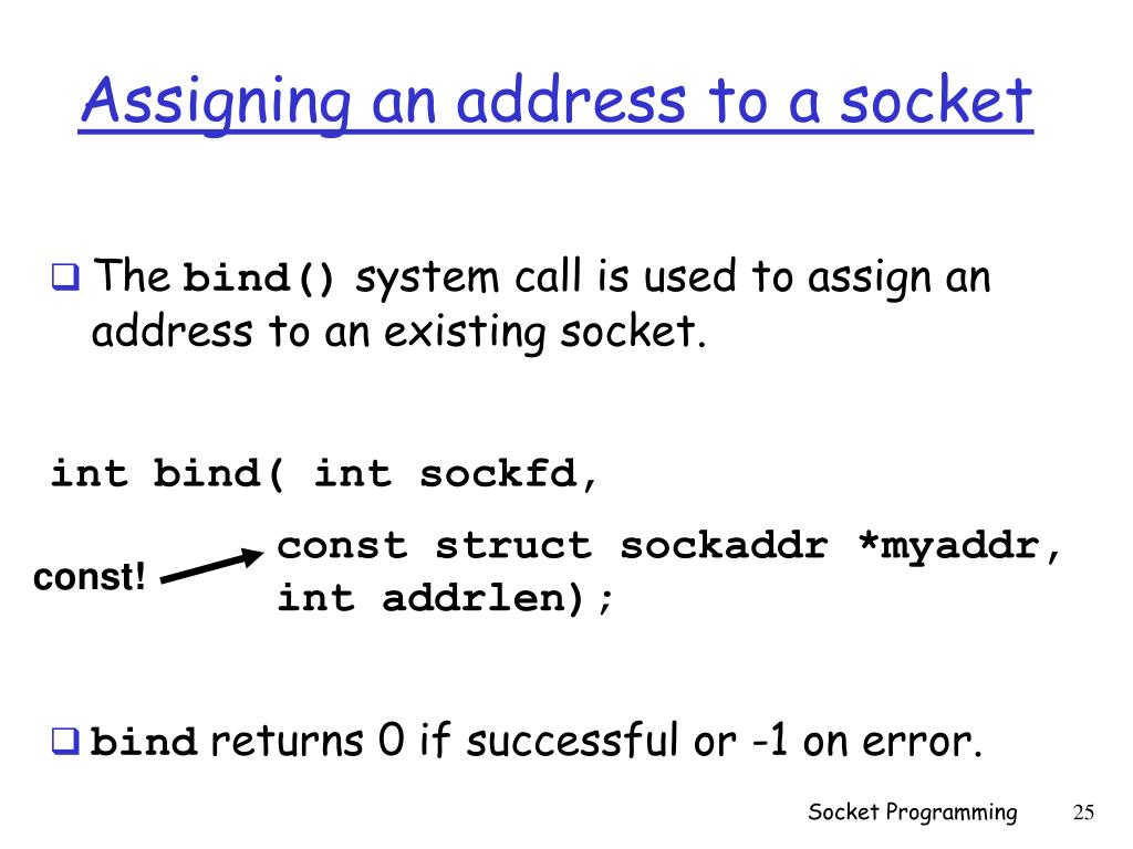 PPT - Lecture 4 Socket Programming PowerPoint Presentation - ID:3107100