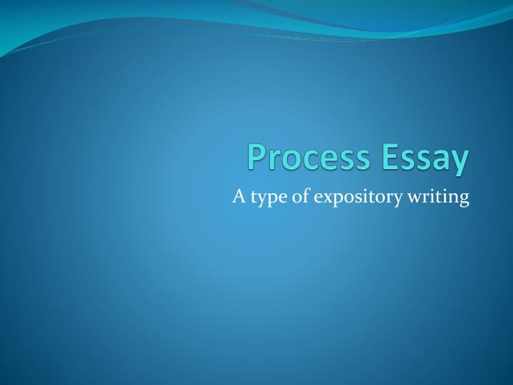 powerpoint writing process