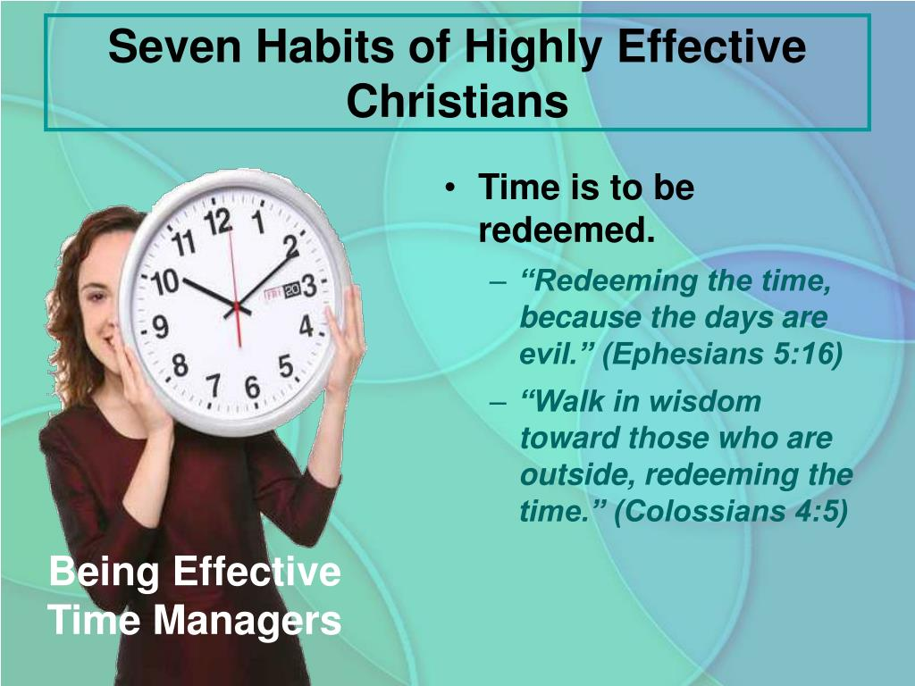 PPT - Seven Habits of Highly Effective Christians PowerPoint