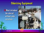 odorizing equipment