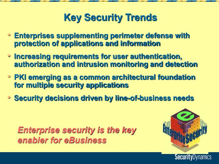 Key Security Trends