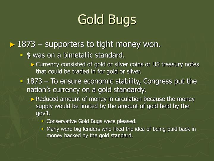 Gold Bugs