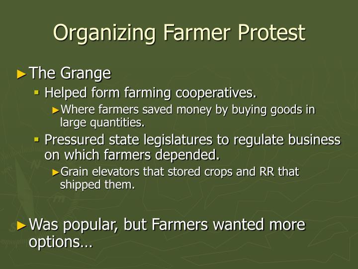 Organizing Farmer Protest