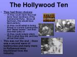 the hollywood ten1