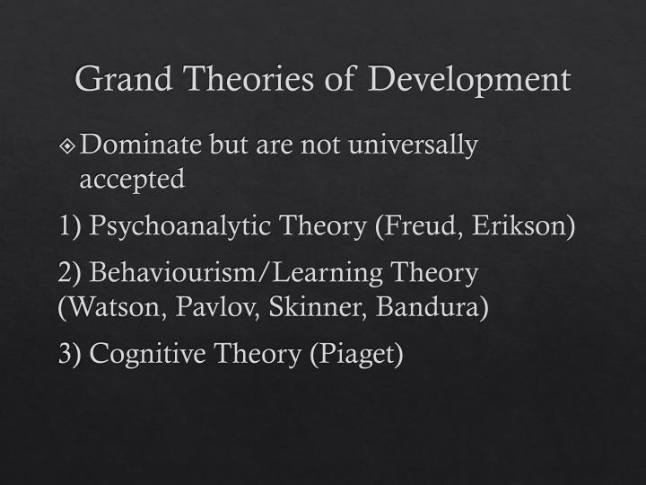 grand theories Baumeister asks what a grand theory of motivation might look like, and he identifies the key problems, challenges, and opportunities that need to be considered in its pursuit i address four of these challenges—how to define motivation, whether motivation is a state or a trait, the primacy of.