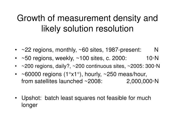 ~22 regions, monthly, ~60 sites, 1987-present:        N