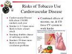 risks of tobacco use cardiovascular disease