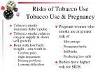 risks of tobacco use tobacco use pregnancy