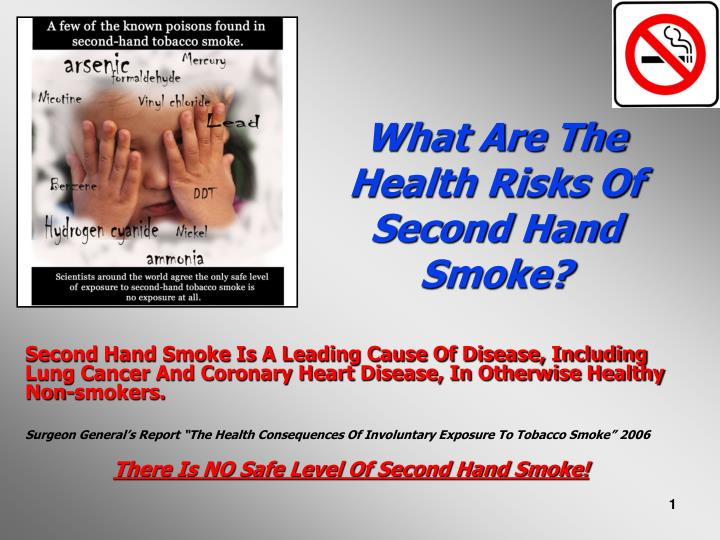the risks and consequences of tobacco smoking In 2009, the american lung association played a key role in the passage of the family smoking prevention and tobacco control act, which gives the us food and drug administration authority over tobacco products.