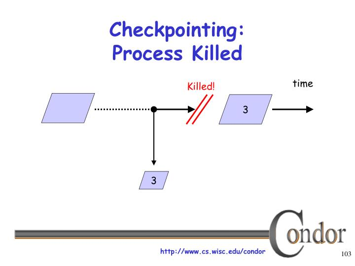 Checkpointing: