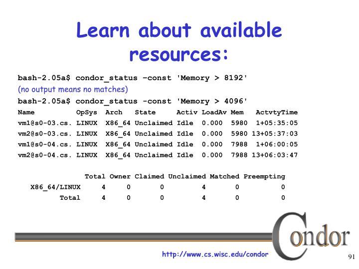 Learn about available resources: