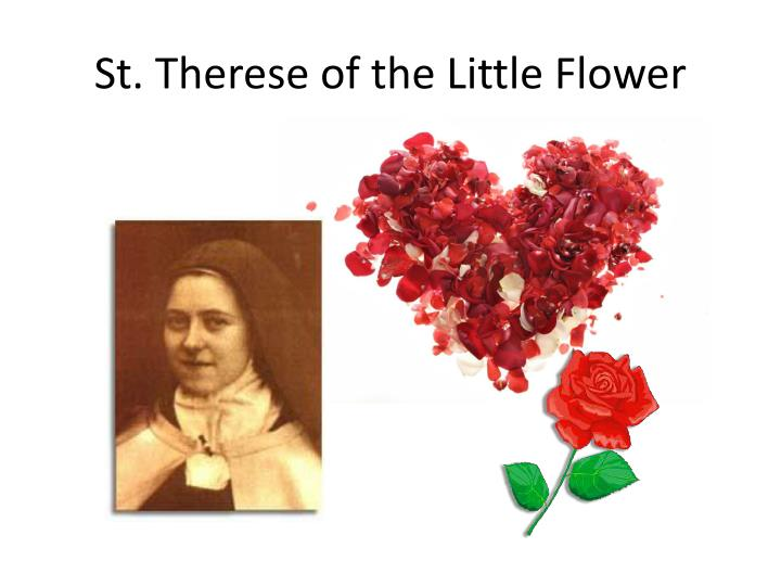 St therese of the little flower