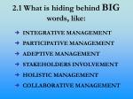2 1 what is hiding behind big words like